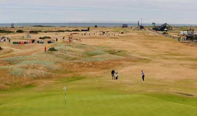 The-dry-fairways-at-Carnoustie